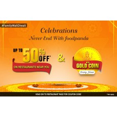 Deals, Discounts & Offers on Food and Health - Order and win Gold Coin Every hour offer
