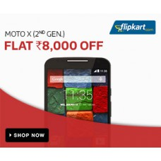 Deals, Discounts & Offers on Electronics - Moto X (2nd gen.) - Flat Rs. 8000 off