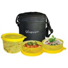Deals, Discounts & Offers on Home Appliances - Oliveware lunch boxes - FLAT 50% OFF