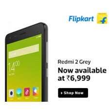 Deals, Discounts & Offers on Electronics - Redmi 2 Grey - At Just Rs. 6,999
