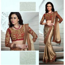 Deals, Discounts & Offers on Women Clothing - Flat 35% Cashback on Women Dress material and sarees