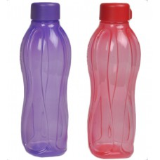 Deals, Discounts & Offers on Home Appliances - Tupperware Set of 2 water bottle 500 ml Purple & Red at Rs. 149