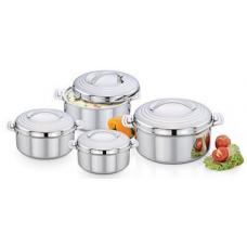 Deals, Discounts & Offers on Home Appliances - Praylady Hot Pot 4 Pcs Set - 500 ml, 1000 ml, 1500 ml, 2500 ml  Rs 1949