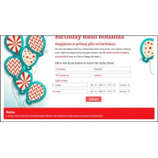 Hopscotch Offers and Deals Online - Birthday Bash Bonanza: Win Rs.3000.