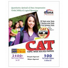 Deals, Discounts & Offers on Books & Media - CAT Topic-wise Solved Papers with Test & Assessment CD 8th edition