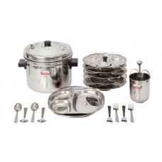 Deals, Discounts & Offers on Home Appliances - Shubham 15 Pcs IDLI Combo offer