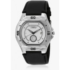Deals, Discounts & Offers on Men - TimexEl00 Black/White Analog Watch