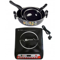 Deals, Discounts & Offers on Home Appliances - Suryamate A8 Induction Cookers with Cookware Set