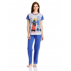 Deals, Discounts & Offers on Women Clothing - Ziva Fashion Women's Cotton Pyjama Set