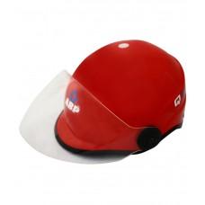 Deals, Discounts & Offers on Women - Abp Red Open Face Helmet For Women